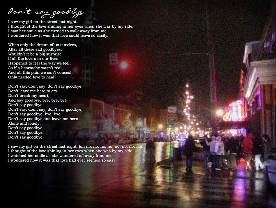 the last goodbye lyrics