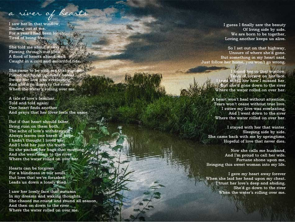 Lyric lyrics to down to the river : Seraphonium |